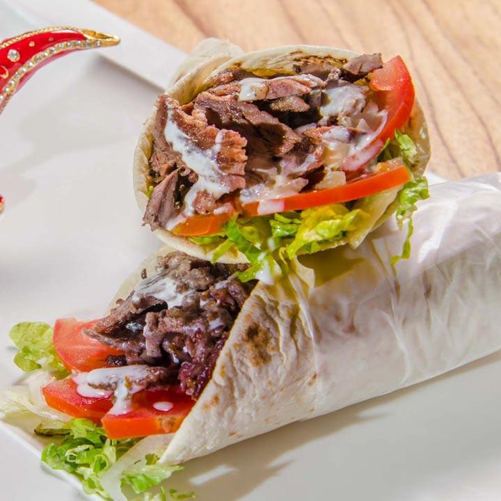 Shawarma: Carne de Ternera o Pollo