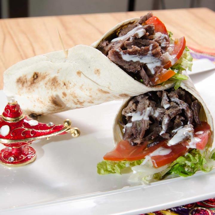 Shawarma: Carne de Cordero